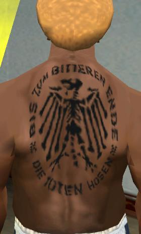 Download Tattös Die Toten Hosen Ruecken Tattoo Für Gta San Andreas