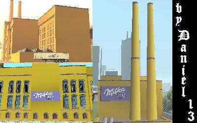 Download Geb 228 Ude Milka Fabrik F 252 R Gta San Andreas